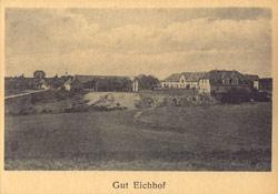 Alte Ansicht vom ehemaligen Gut Eichhof