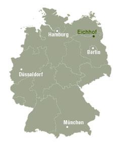 Lage von Eichhof in Deutschland